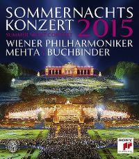 Cover Wiener Philharmoniker / Mehta | Buchbinder - Sommernachtskonzert 2015 - Summer Night Concert [DVD]